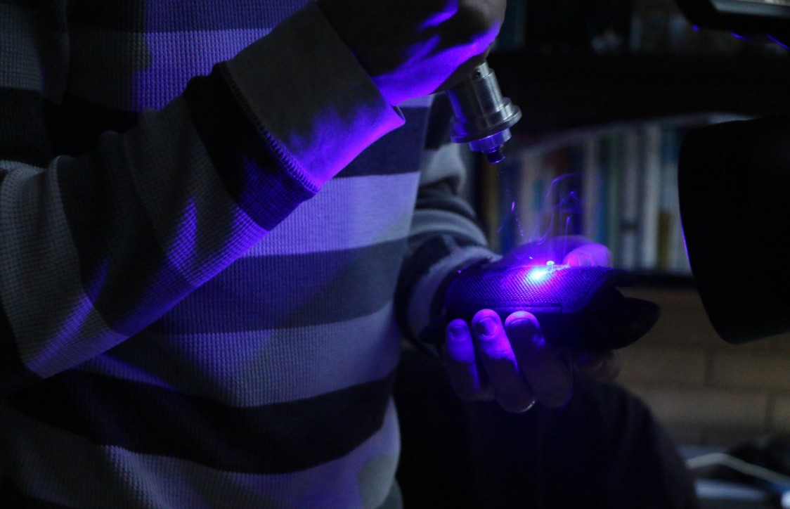 A homemade lightsaber produces the same amount of heat as 2,000 laser pointers directed at the same spot. This gives it the power to heat and burn through solid objects.