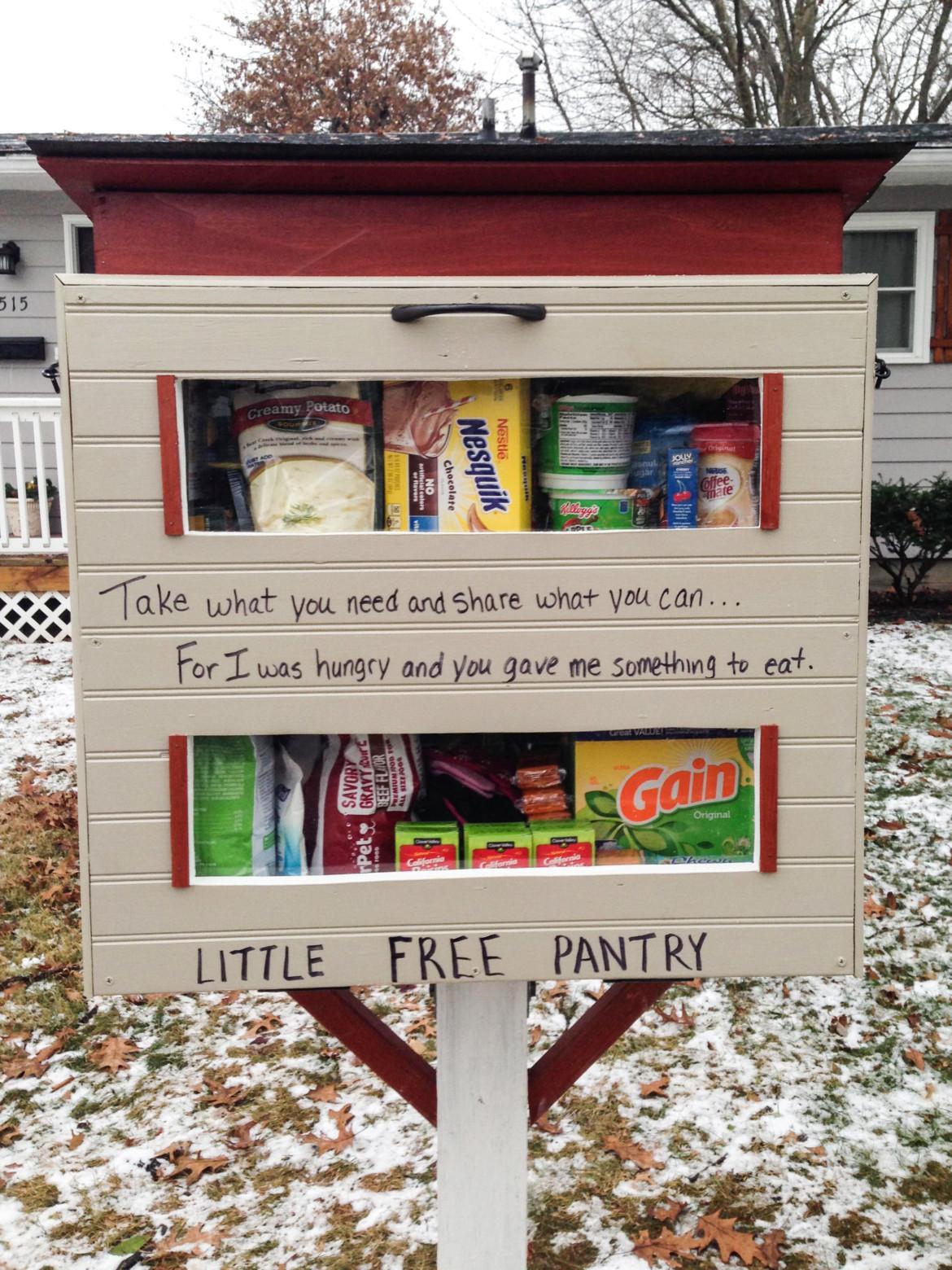 Neighborhood Food Pantry Box