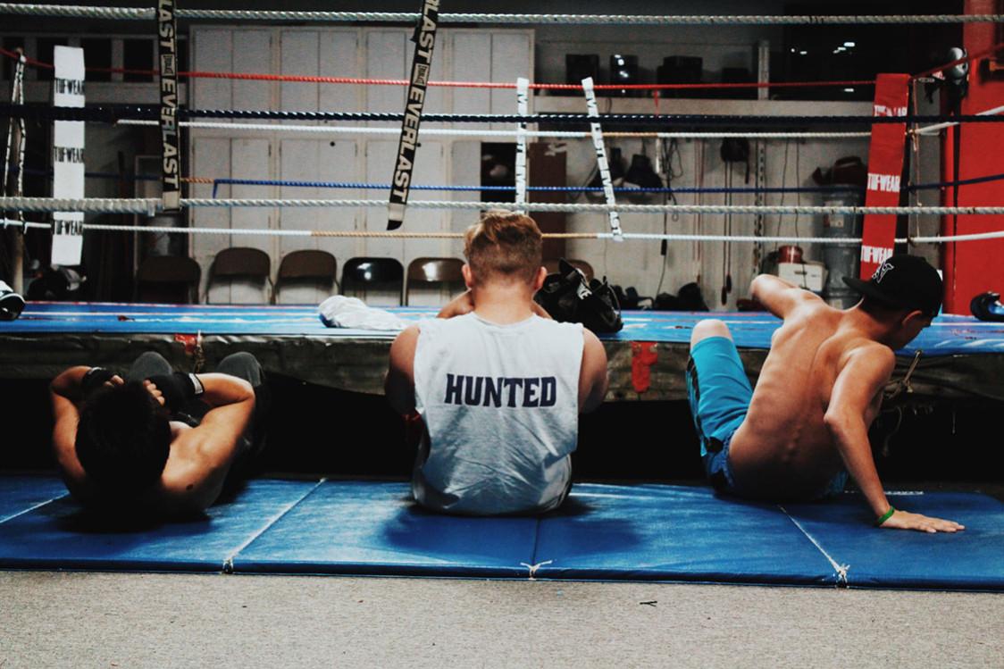boxing adam rogan