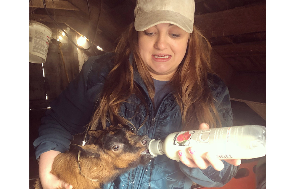 LA Gal Spends Her Day Milking Goats