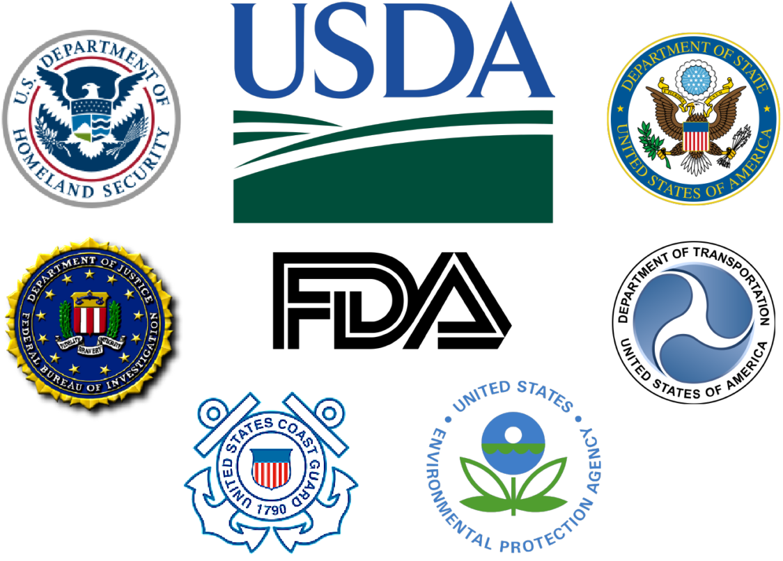 US government department agency logos