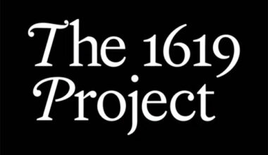 1619 Project header from New York Times Magazine