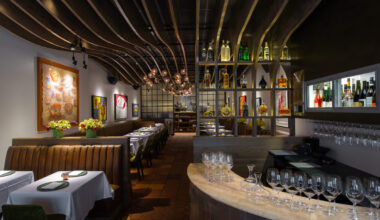 Chef Bayless' One MICHELIN-Star Topolobampo's Bar and Dining Room